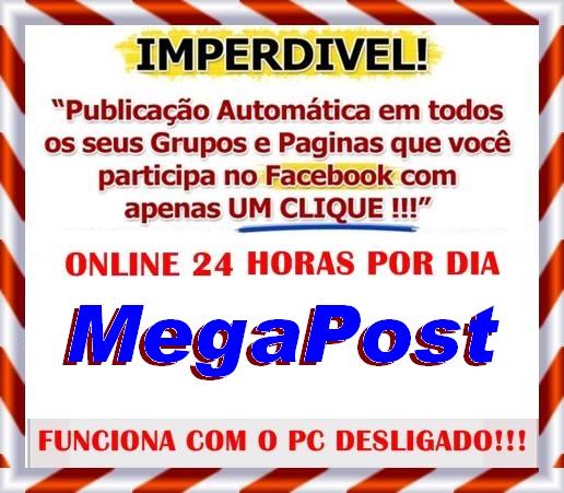 Divulgue Automaticamente no Facebook!!!