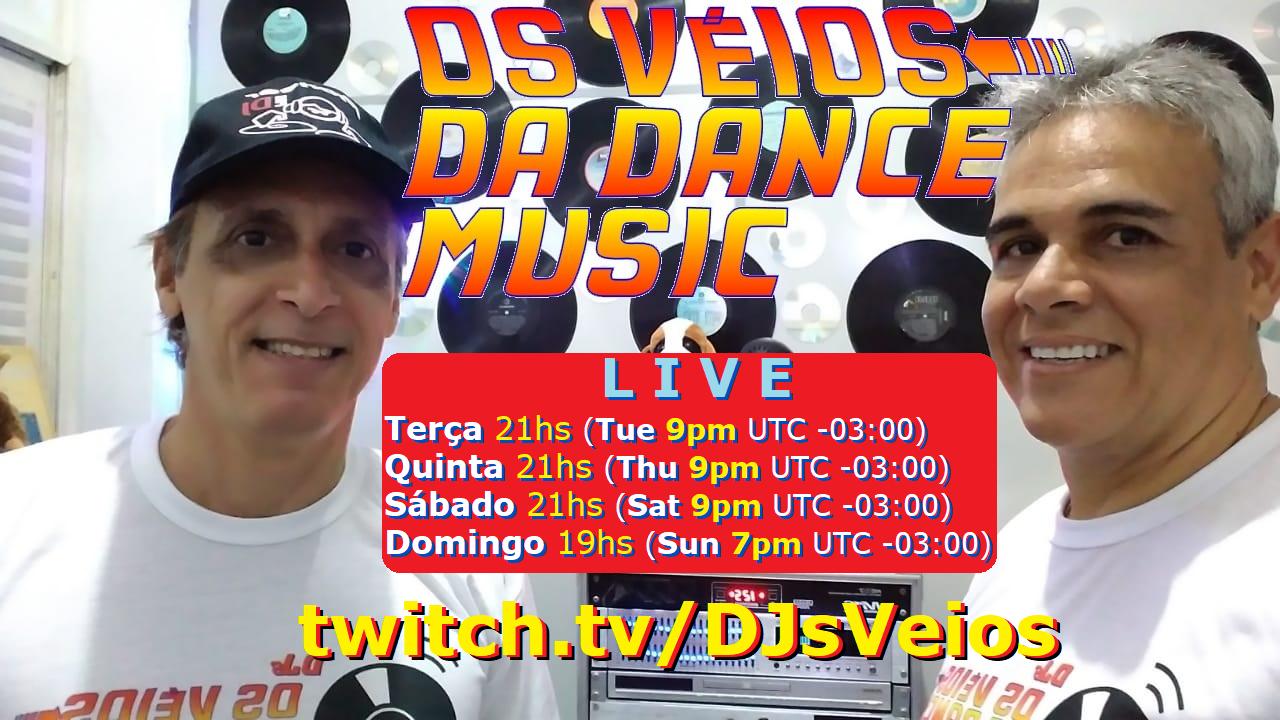 DJs os VÉIOS da Dance Music! - Muito Flash Back e Dance Music!